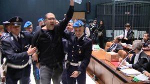 Genova - processo ai due anarchici accusati del ferimento del manager Ansaldo, Adinolfi
